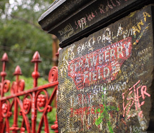 Known from the famous Beatles song: Strawberry Field, Liverpool